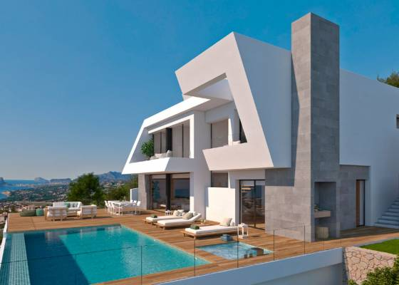 Villa - New Build - North Costa Blanca - Benitatxell