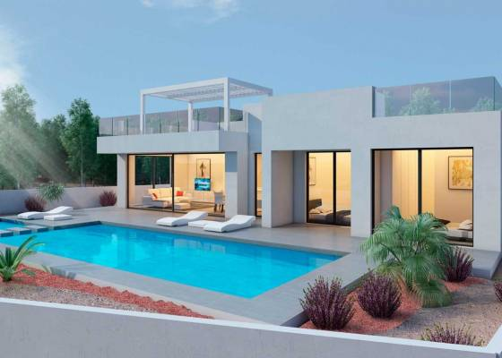 Villa - New Build - South Costa Blanca - San Miguel de Salinas