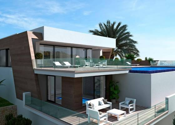Villa - Nouvelle construction - North Costa Blanca - Benitatxell