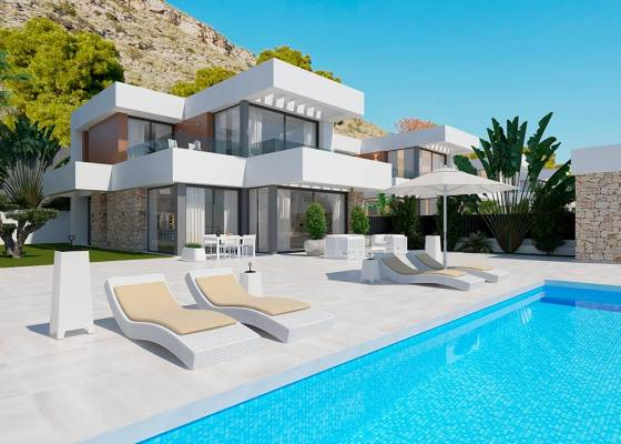 Villa - Nouvelle construction - North Costa Blanca - Finestrat
